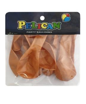 Купить Шарики Pelican 10' (26 см), перламутр золото, 10шт/уп
