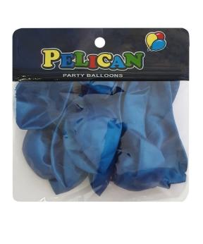 Купить Шарики Pelican 10' (26 см), перламутр синий, 10шт/уп