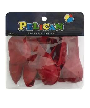 Купить Шарики Pelican 10' (26 см), пастель бордовый 1010-801, 10шт/уп