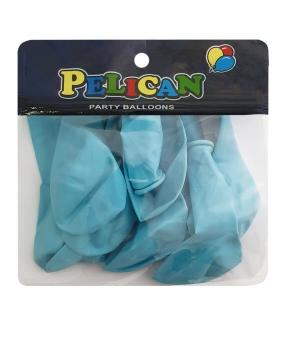 Купить Шарики Pelican 10' (26 см), пастель голубой 1010-802, 10шт/уп