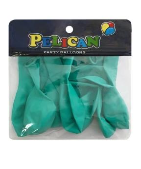 Купить Шарики Pelican 10' (26 см), пастель бирюзовый 1010-806, 10шт/уп