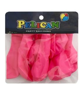 Купить Шарики Pelican 10' (26 см), пастель розовый 1010-813, 10шт/уп