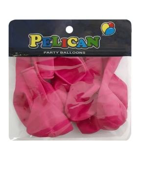 Купить Шарики Pelican 10' (26 см), пастель малиновый 1010-816, 10шт/уп
