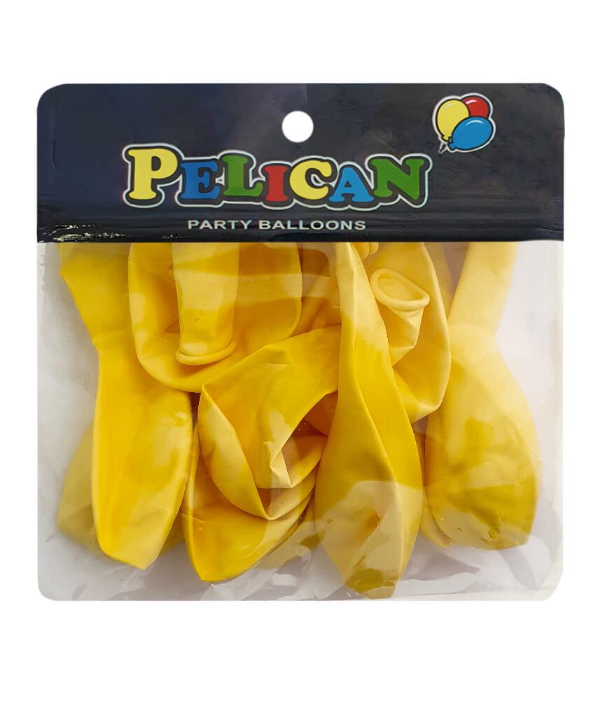 Шарики Pelican 10' (26 см), пастель кремовый 1010-820, 10шт/уп