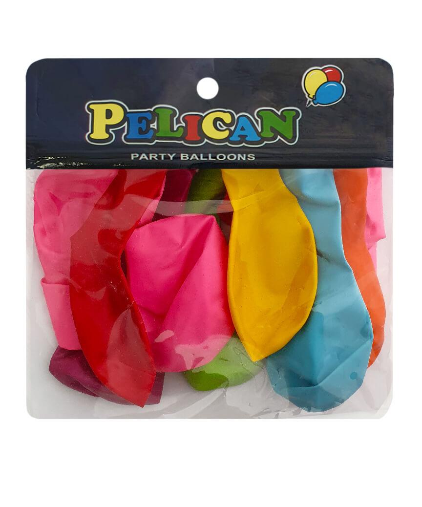 Шарики Pelican 10' (26 см), пастель ассорти 1010-888, 10шт/уп