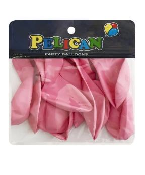 Купить Шарики Pelican 10' (26 см), макарун малиновый 1010-904, 10шт/уп