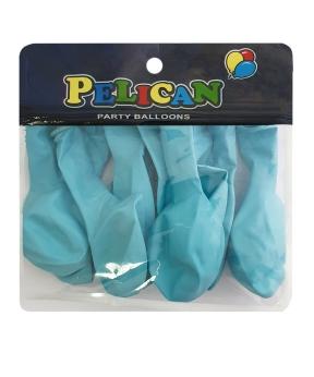 Купить Шарики Pelican 10' (26 см), макарун синий 1010-908, 10шт/уп
