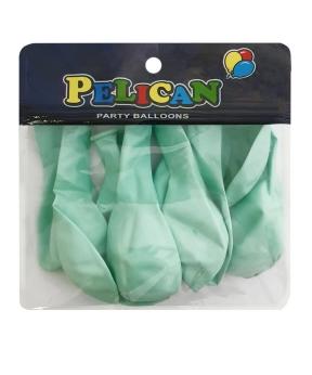 Купить Шарики Pelican 10' (26 см), бирюзовый светлый, 10шт/уп