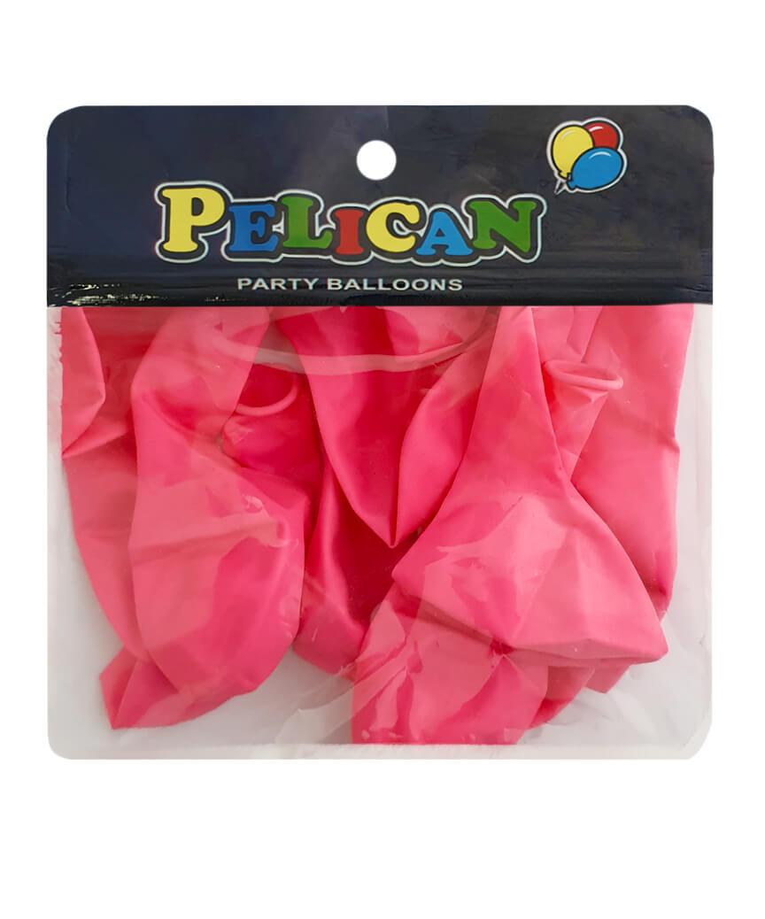 Шарики Pelican 10' (26 см), макарун розовый темный 1010-914, 10шт/уп