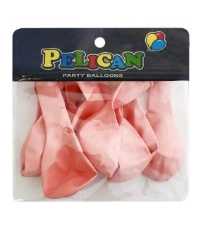 Купить Шарики Pelican 10' (26 см), макарун розовый светлый 1010-916, 10шт/уп