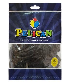 Купить Шарики Pelican 10' (26 см), перламутр черный 1050-702, 50шт/уп