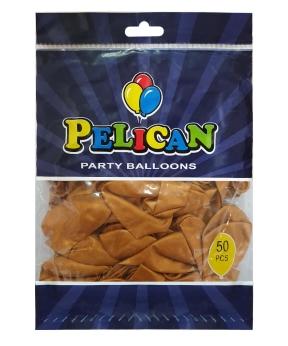 Купить Шарики Pelican 10' (26 см), перламутр бронза 1050-704, 50 шт/уп