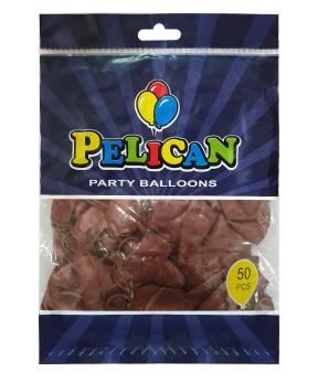 Купить Шарики Pelican 10' (26 см), перламутр коричневый 1050-708, 50шт/уп