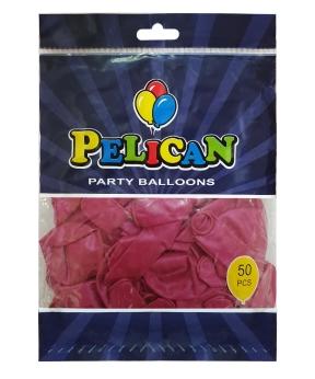Купить Шарики Pelican 10' (26 см), перламутр малиновый 1050-710, 50шт/уп