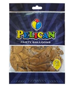 Купить Шарики Pelican 10' (26 см), перламутр кофейный 1050-711, 50шт/уп