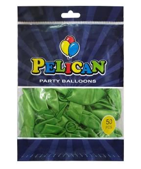 Купить Шарики Pelican 10' (26 см), перламутр зеленый 1050-713, 50шт/уп