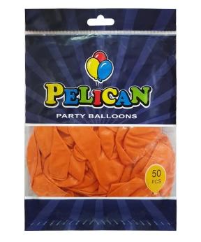 Купить Шарики Pelican 10' (26 см), перламутр оранжевый 1050-715, 50шт/уп