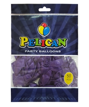 Купить Шарики Pelican 10' (26 см), перламутр фиолетовый 1050-717, 50шт/уп