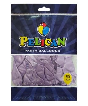 Купить Шарики Pelican 10' (26 см), перламутр фиолетовый светлый 1050-718, 50шт/уп