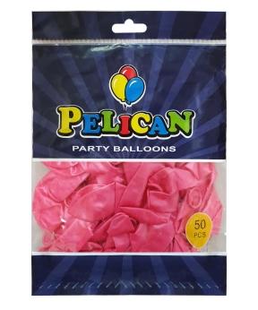 Купить Шарики Pelican 10' (26 см), перламутр розовый2 1050-735, 50шт/уп