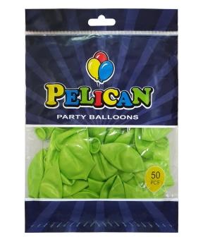 Купить Шарики Pelican 10' (26 см), перламутр салатовый 1050-740, 50шт/уп