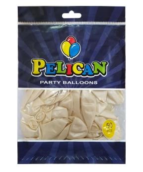 Купить Шарики Pelican 10' (26 см), перламутр белый2 1050-745, 50шт/уп