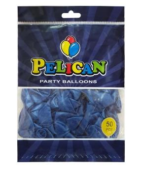 Купить Шарики Pelican 10' (26 см), перламутр синий2 1050-749, 50шт/уп