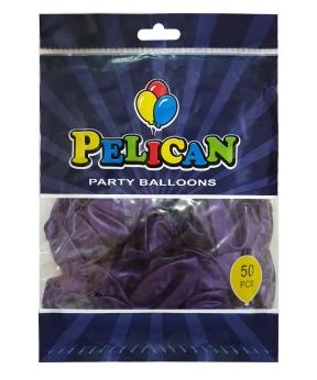Купить Шарики Pelican 10' (26 см), перламутр синий темный 1050-751, 50шт/уп