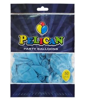 Купить Шарики Pelican 10' (26 см), пастель синий светлый 1050-803, 50шт/уп