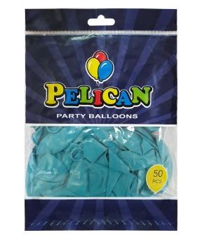 Купить Шарики Pelican 10' (26 см), пастель морская волна 1050-805, 50шт/уп