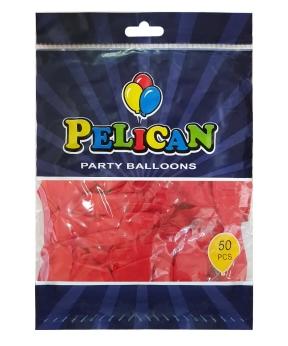 Купить Шарики Pelican 10' (26 см), пастель красный 1050-812, 50шт/уп