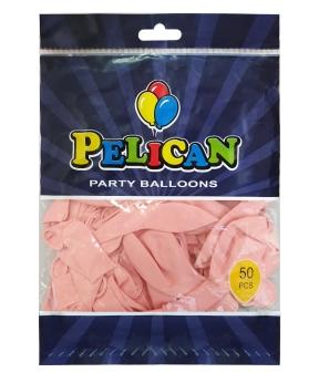 Купить Шарики Pelican 10' (26 см), пастель розовый светлый 1050-814, 50шт/уп