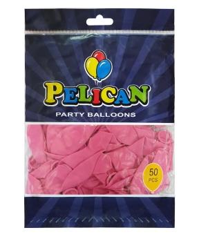 Купить Шарики Pelican 10' (26 см), пастель малиновый 1050-816, 50шт/уп