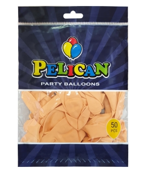 Купить Шарики Pelican 10' (26 см), пастель оранжевый светлый 1050-819, 50шт/уп