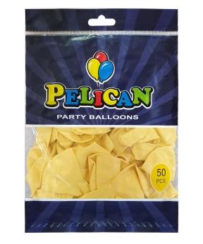 Купить Шарики Pelican 10' (26 см), пастель кремовый 1050-820, 50шт/уп