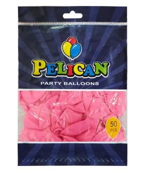 Купить Шарики Pelican 10' (26 см), пастель розовый2 1050-838, 50шт/уп