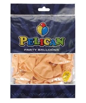 Купить Шарики Pelican 10' (26 см), макарун оранжевый 1050-902, 50 шт/уп