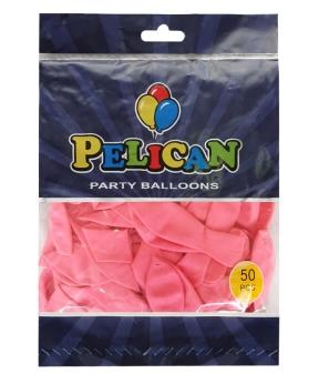 Купить Шарики Pelican 10' (26 см), макарун розовый темный 1050-914, 50 шт/уп