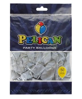 Купить Шарики Pelican 10' (26 см), макарун серый 1050-915, 50 шт/уп