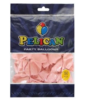 Купить Шарики Pelican 10' (26 см), макарун розовый светлый 1050-916, 50 шт/уп