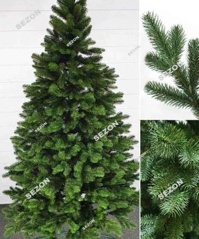 Купить Ель литая элитная зеленая 1,5м  (картон/упак)