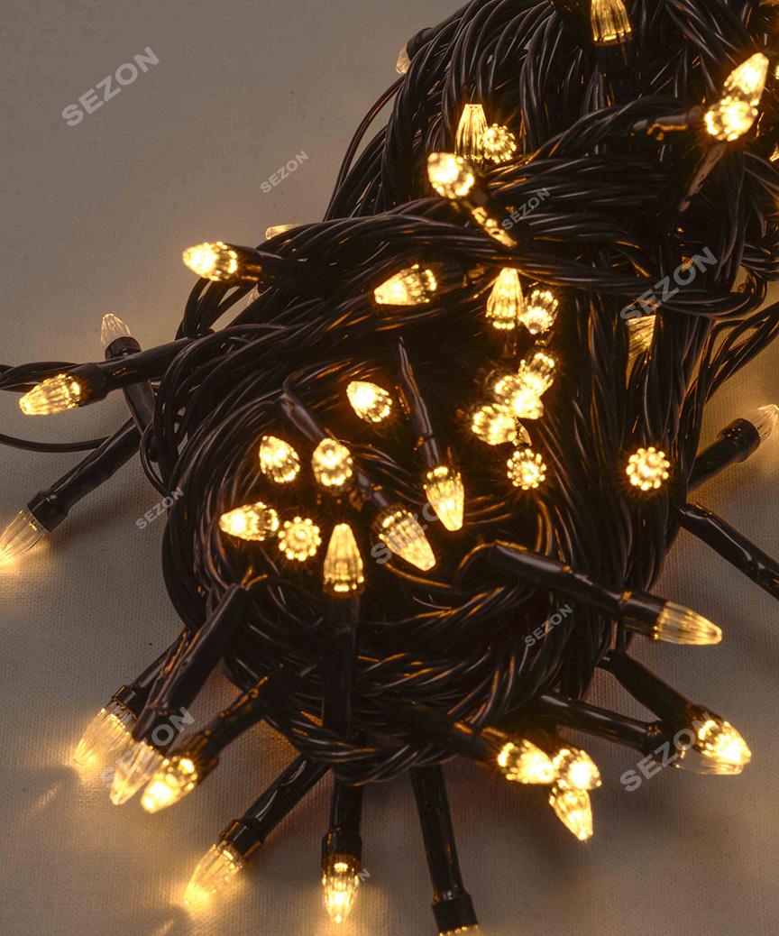 КОНУС 500 LED,  теплий білий  (чорний провід)