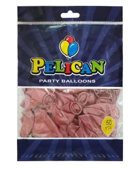 Купить Шарики Pelican 12' (30 см), хром бордовый, 50шт/уп