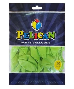 Купить Шарики Pelican 12' (30 см), перламутр салатовый 1250-740, 50шт/уп