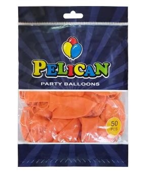 Купить Шарики Pelican 12' (30 см), перламутр оранжевый 1250-743, 50шт/уп
