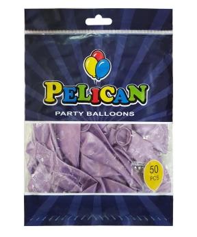 Купить Шарики Pelican 12' (30 см), перламутр фиолетовый 1250-750, 50шт/уп
