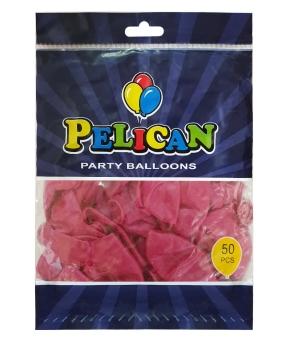 Купить Шарики Pelican 12' (30 см), перламутр бордовый 1250-752, 50шт/уп