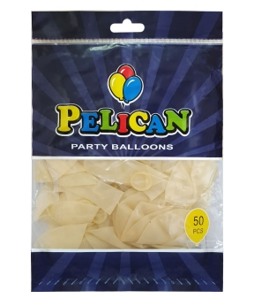 Купить Шарики Pelican 12' (30 см), прозрачный 1250-800, 50шт/уп