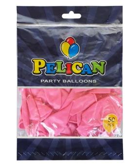 Купить Шарики Pelican 12' (30 см), пастель розовый 1250-838, 50шт/уп