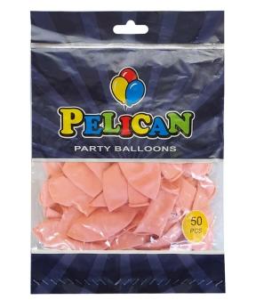 Купить Шарики Pelican 12' (30 см), пастель розовый нежный 1250-839, 50шт/уп